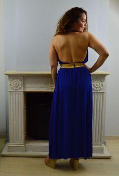 Φόρεμα Μακρύ Εξώπλατο