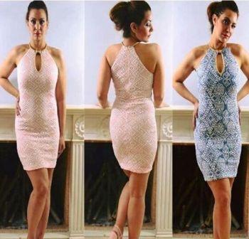 Φόρεμα Δαντέλα Midi