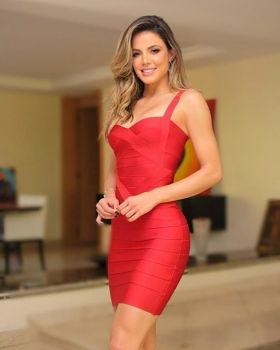 Francie Mini Red Dress
