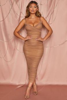 Shelley Brown Midi Dress