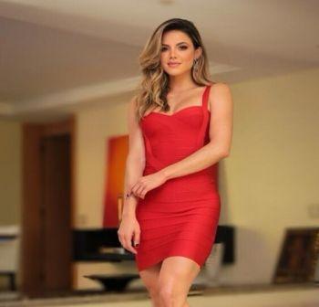 Francie Mini Red Dress